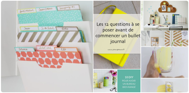 Pinterest board planning organization work bullet journal