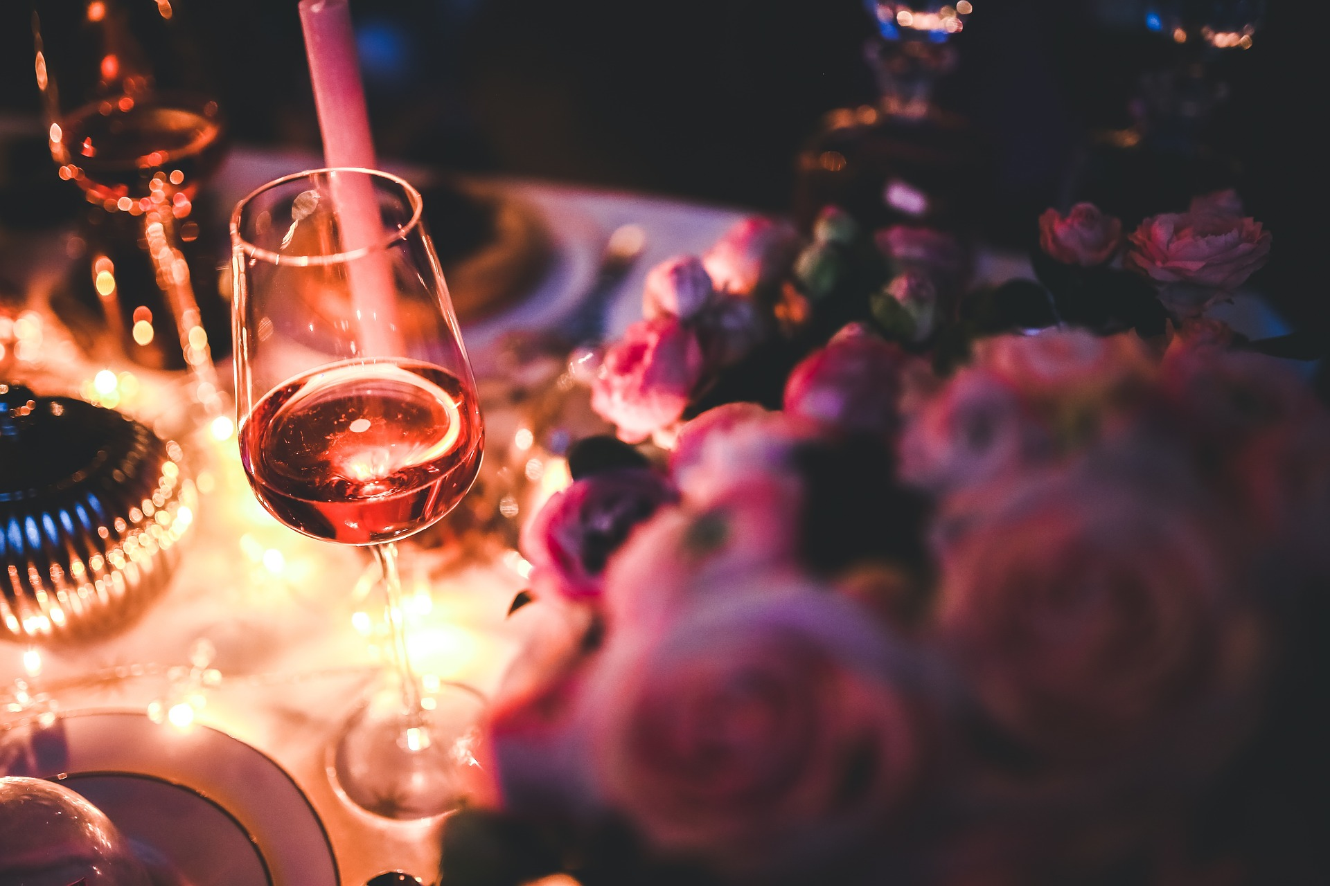 romantic dinner - valentine's day