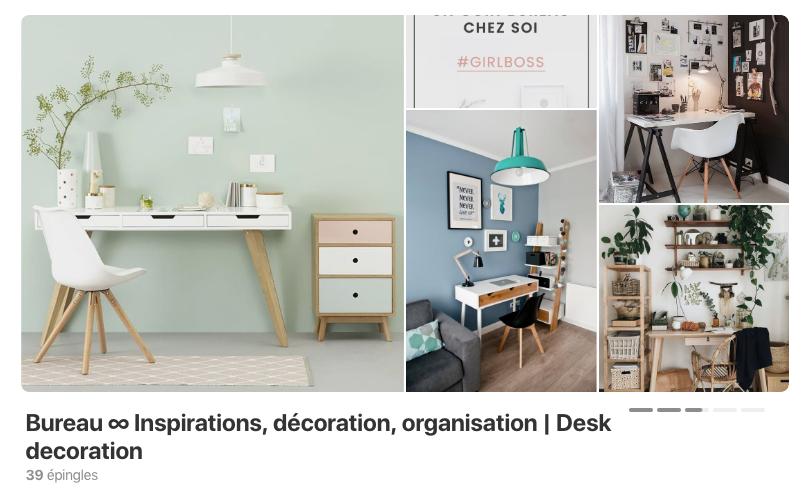 Bureau, inspirations, décoration, organisation - astuces