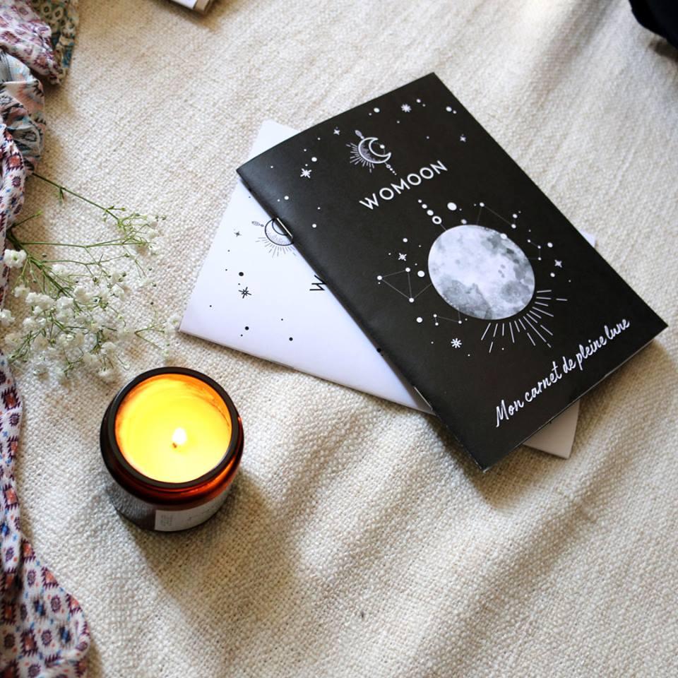 Carnet rituels pleine lune - boutique ésotérique - spirituel - WOMOON