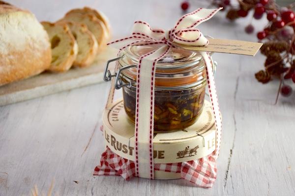 Cadeau gourmand, camembert miel romarin - idée cadeau Noël