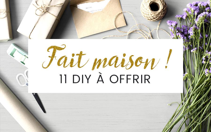 11 Idées Cadeaux Diy Offrez Du Fait Maison Pour Noël Ona